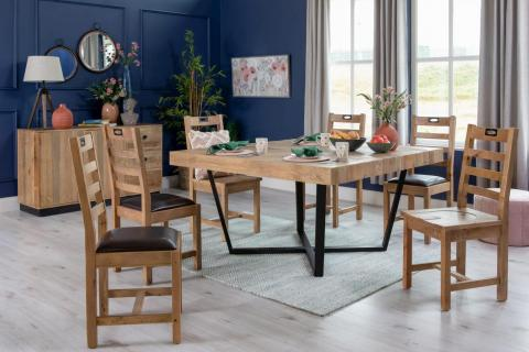 San Francisco Square Table & Chairs Lookbook
