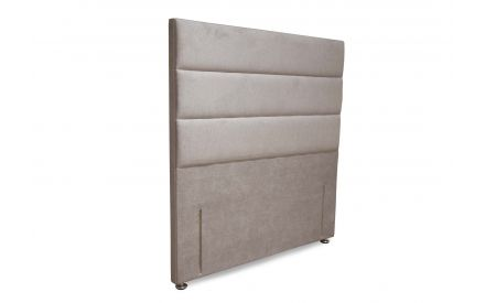 A front angle image of the Elite emerald full height headboard.