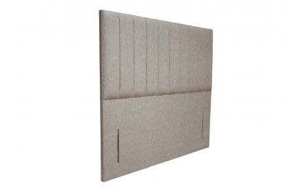 An angle image of the Leitrim 5ft Full Height Headboard.