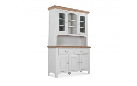 Angled view from front of the Georgia buffet hutch
