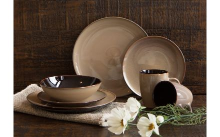 Taupe Soup Bowl - Sierra