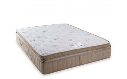 Apower shot image for the Saol Fada  Platinum 1800 Super King 6 ft beige mattress.