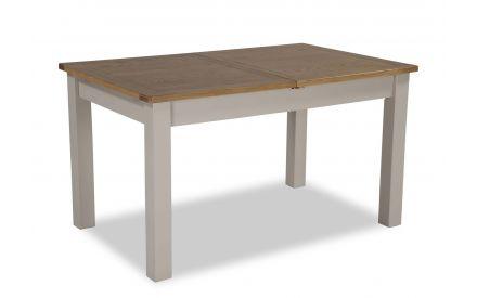 A power shot image for the Kinsale Oak extendable table.