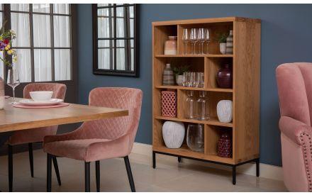 Oak Bookcase - Mila