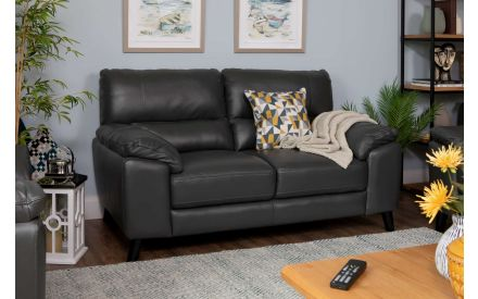 Made to Order Leather 2 Seater Sofa - Alfredo