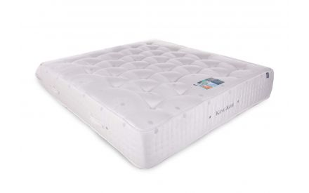 A 4ft pocket sprung mattress from EZ Living Furniture's Grand Regal range. Angled
