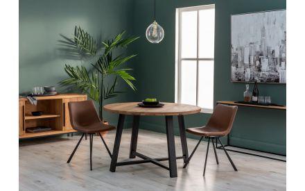 Oak Round Dining Table - Renvyle