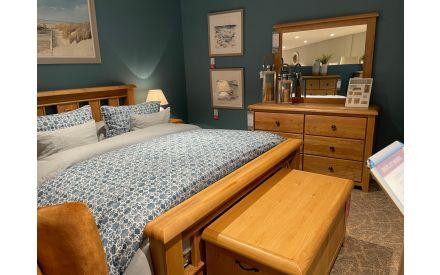 Actual look of the Cashel 5ft bedroom range floor models on offer in Sligo store