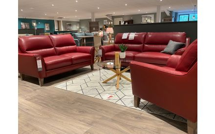 Actual look of the Dazzle 2.5 +2 +1 seater sofa floor model on offer in Castlebar store