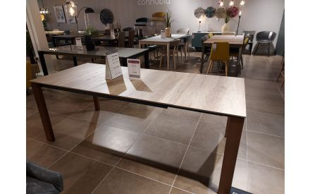 Actual look of the Eminence table floor model on offer in City East store