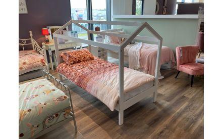 Actual Erik cabin bed 3ft + comfort foam mattress floor models on offer in Limerick store