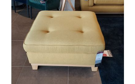 Actual look of the Fjord footstool floor model on offer in City East store