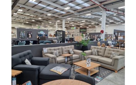 Actual Fjord suite 3+2+1 and armchair on offer on Tullamore store