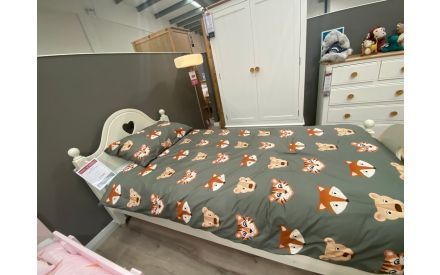 Actual Lilly bed frame + mattress on offer in Clonmel store