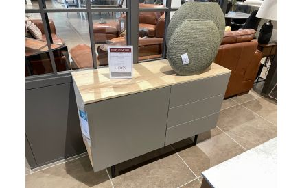 Actual look of the Made 1 door 3 drawers floor model on offer in Tallaght store