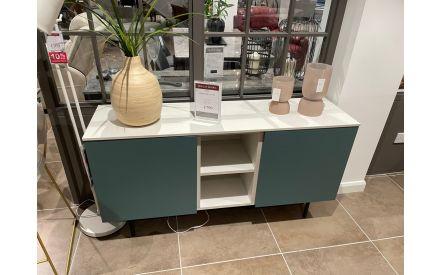 Actual look of the Made 2 door sideboard floor model on offer in Tallaght store