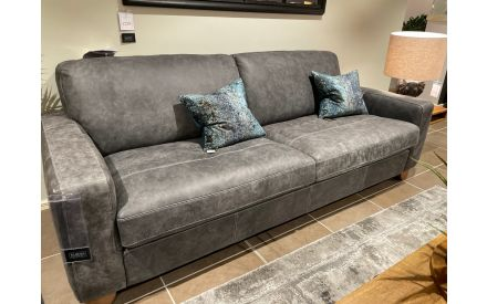 Actual look of the 2.5 seater sofa Marco floor model on offer in Sligo store