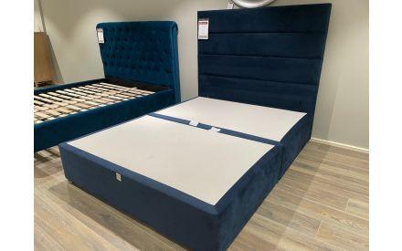 Actual look of the K base 5ft bed & elite emerald headboard floor models on offer in Sligo store