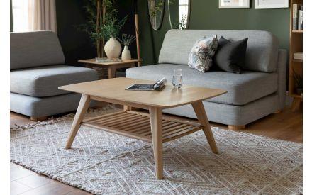 Coffee Table with Framed Shelf - Rho