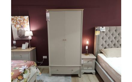 Actual look of the Withby wardrobe floor model on offer in City East store