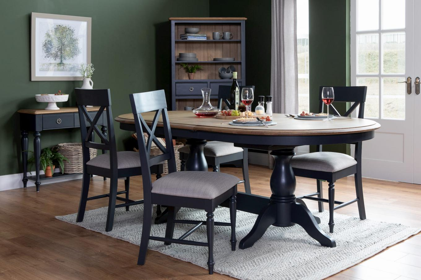 Toulouse Charcoal Dining Lookbook