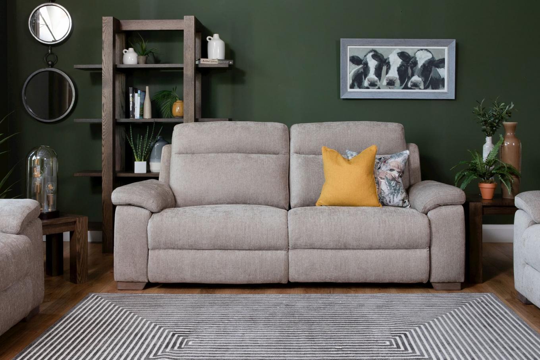 Power Reclining Amalfi Fabric Sofa Lookbook