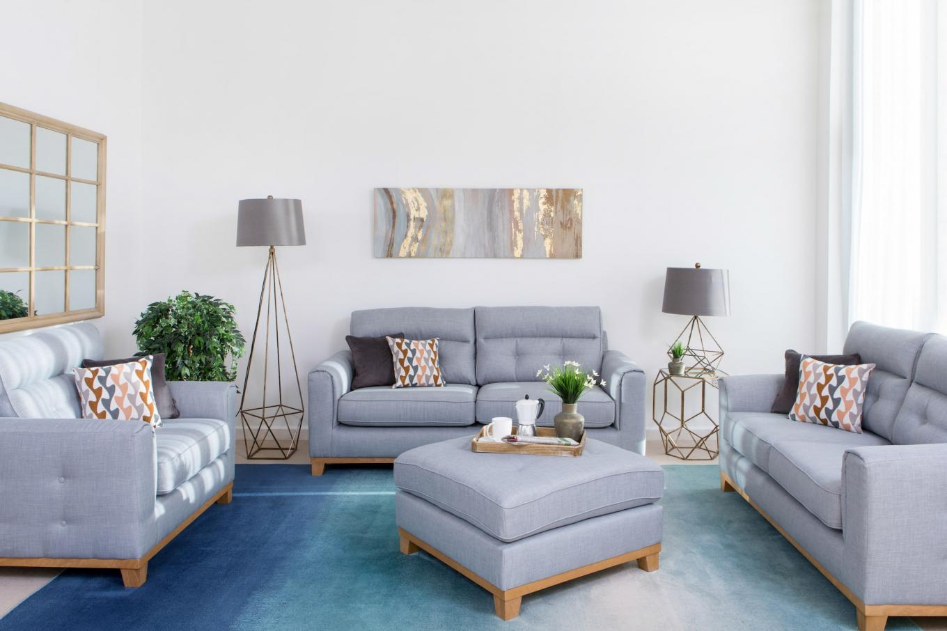 Carlotta Sofa & Footstool Lookbook