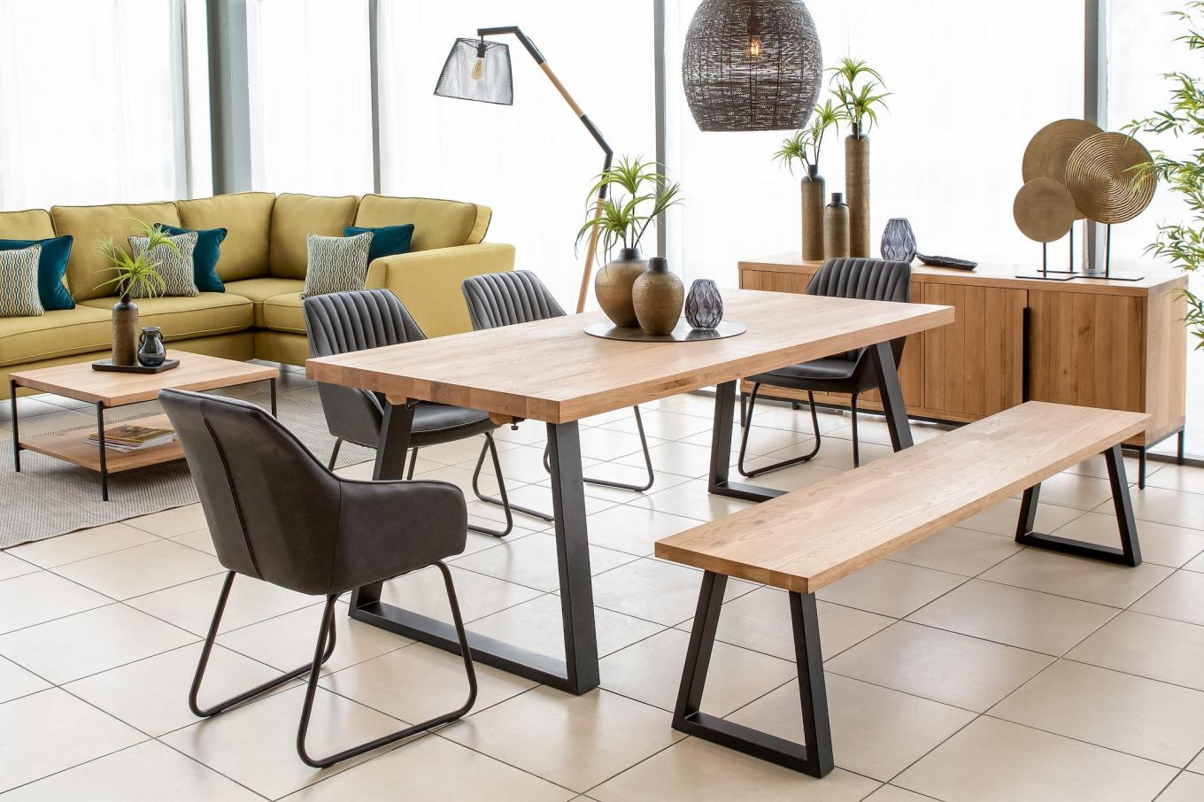 LHF Texas Large Bench Large Extendable Table Lookbook
