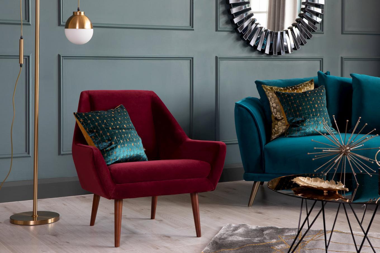 Janey Wine Armchair Lookbook