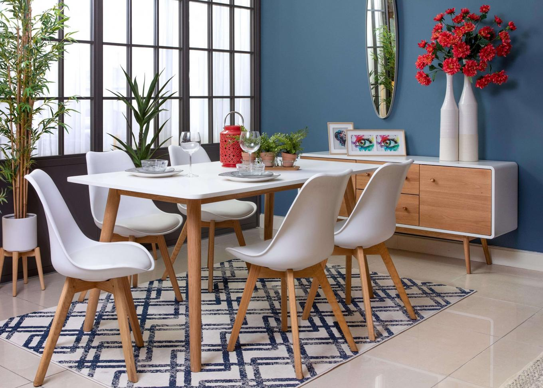 Tia Rectangular Dining Table Lookbook
