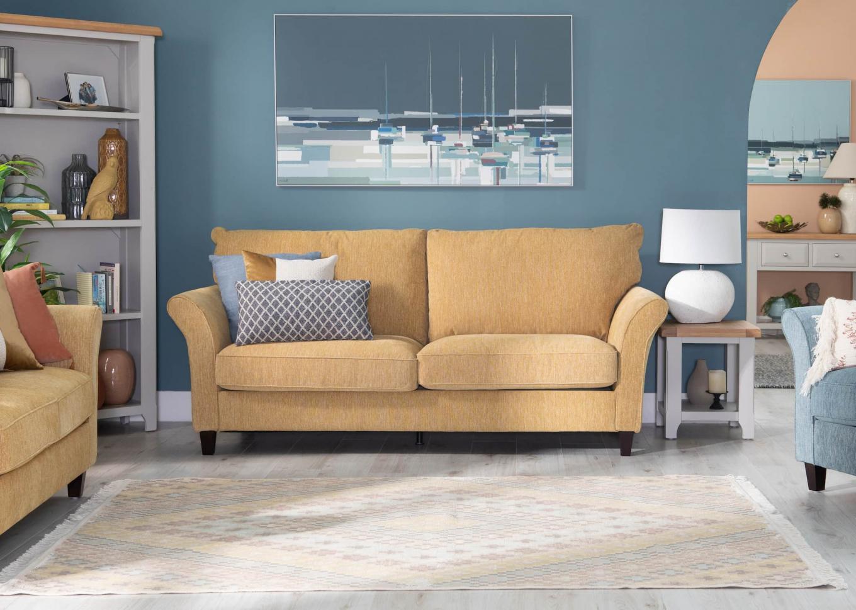 Vanessa Yellow Sofa Lookbook