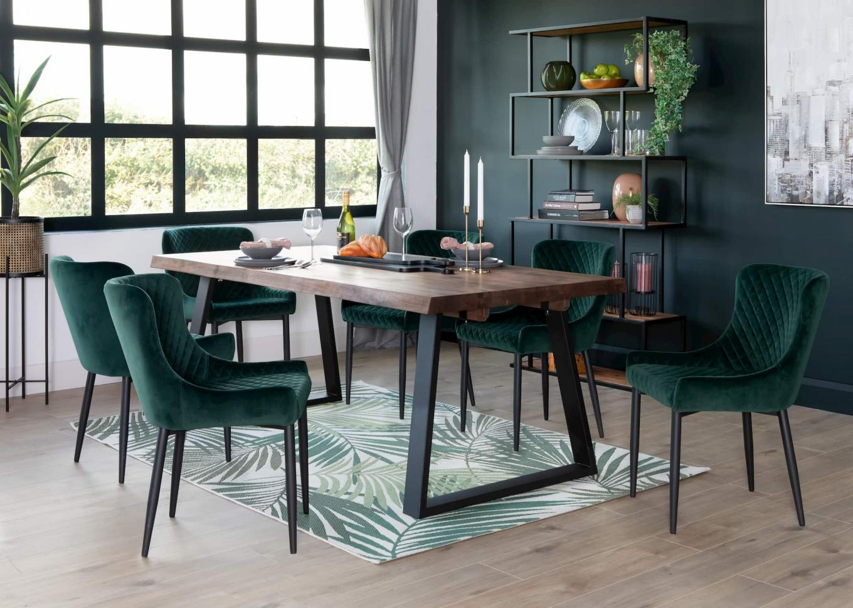 Mila Walnut Dining Table Lookbook