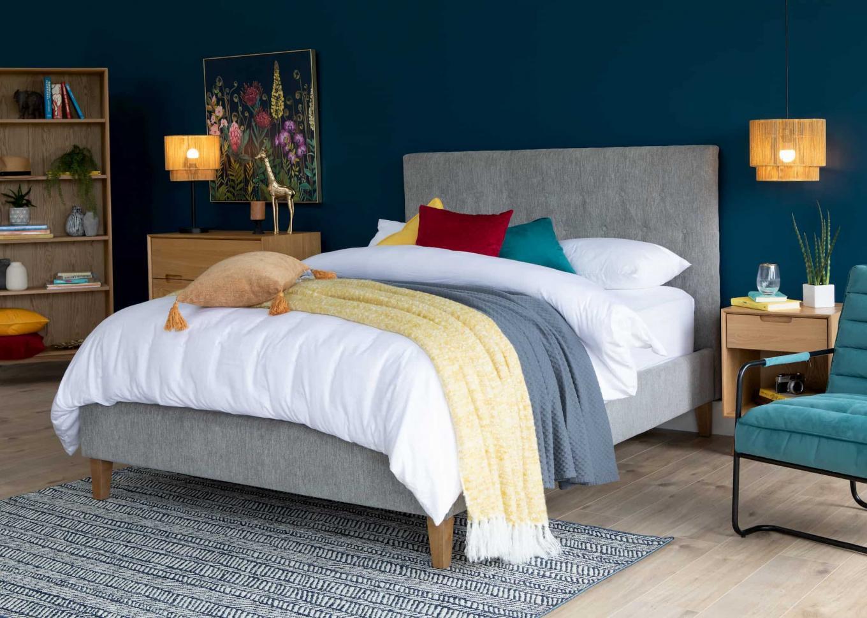 Calia 5ft Grey Bed Frame Lookbook