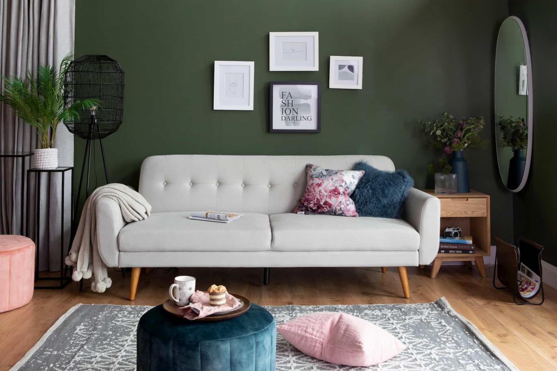 Metro Grey Sofa Bed