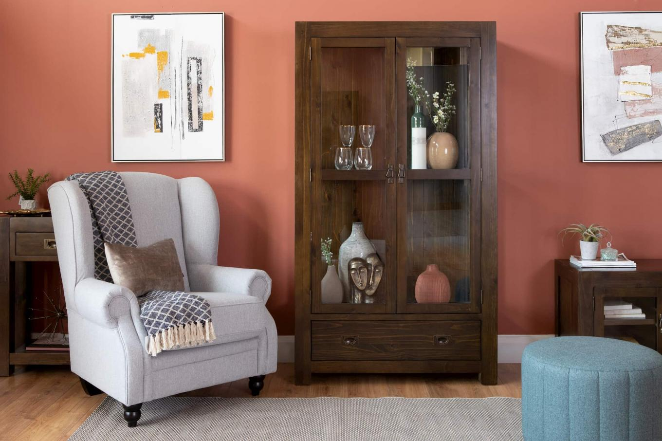 Evelyn Plain Wing Chair & Montreal Living Lookbook