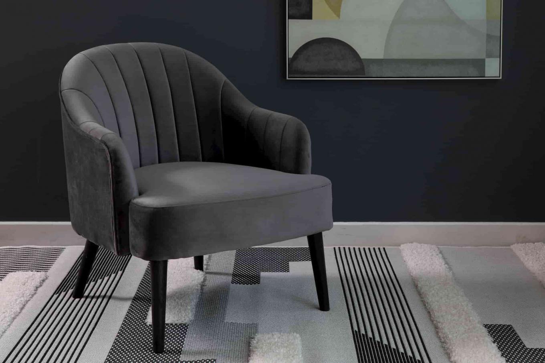 Hazel Grey Armchair Lookbook