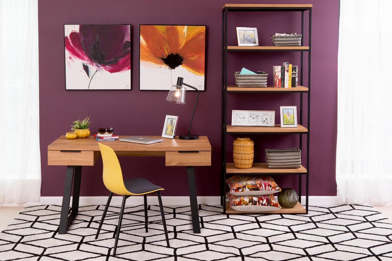 Mila Writing Desk & Bookcase Lookbook