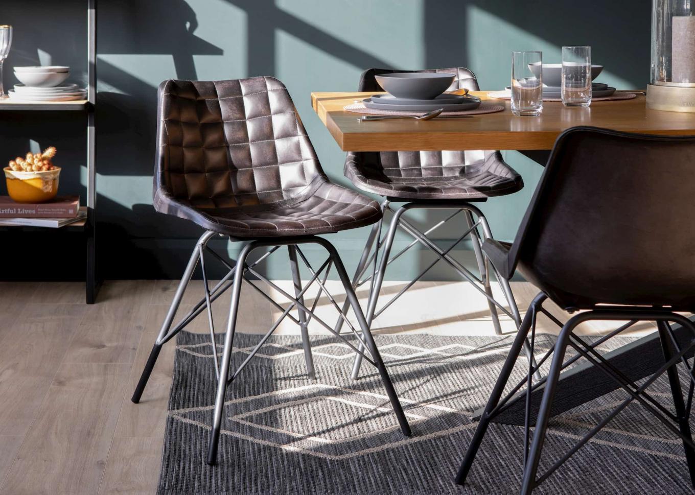 Archie Grey Chair & Myles Lookbook