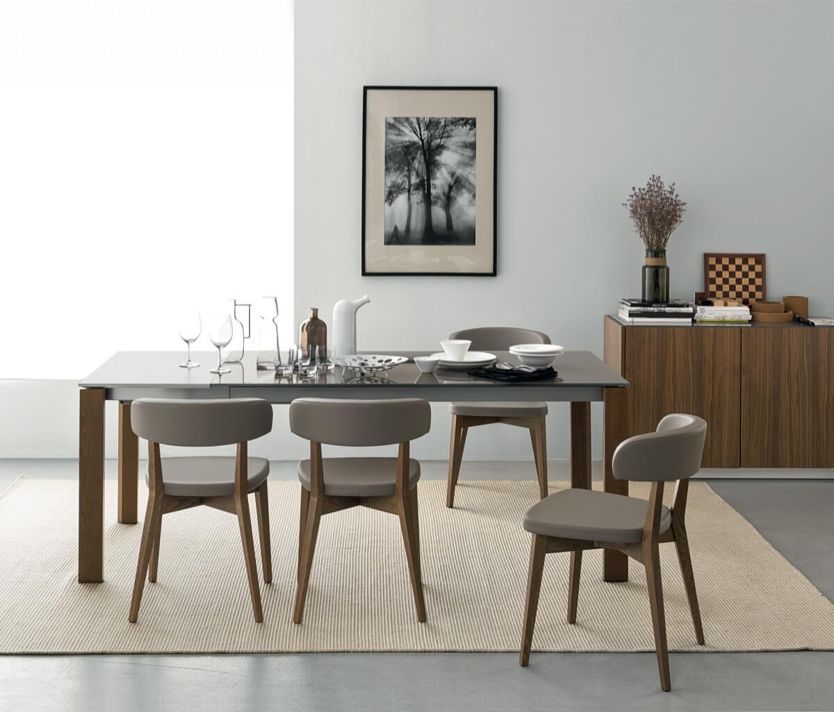 Eminence Vintage Table & Siren Taupe Chairs Lookbook