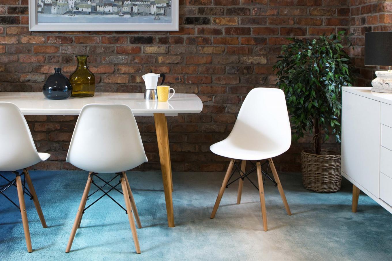 Kuga White Chair Lookbook