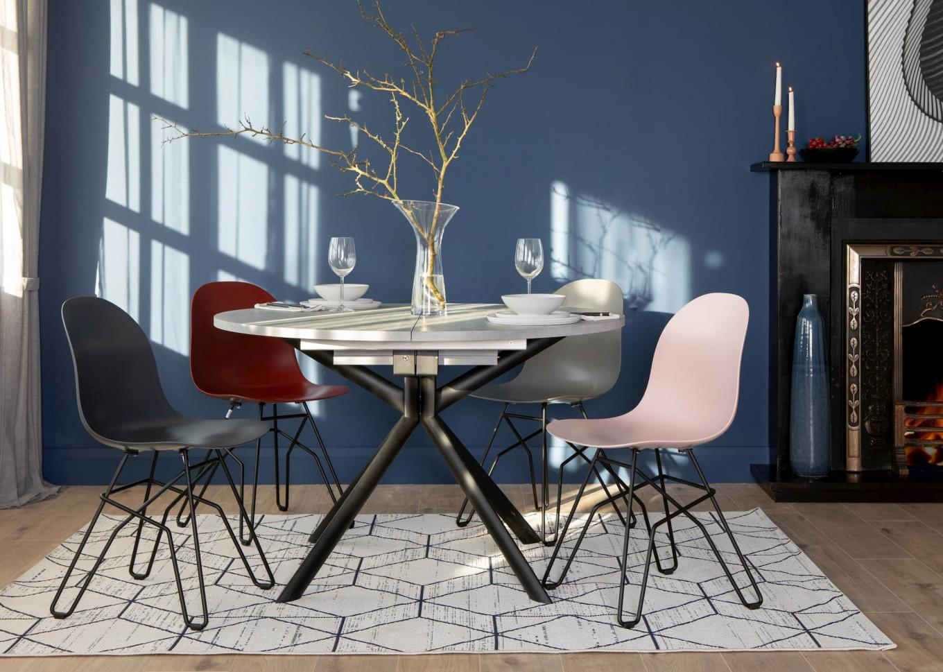 New Academy Chairs & Giove Table Lookbook