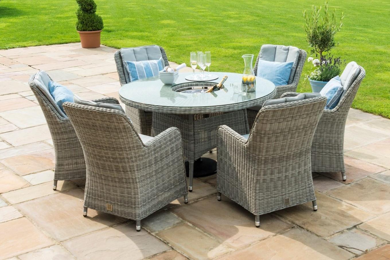 Oxford Round Garden Dining Set Lookbook