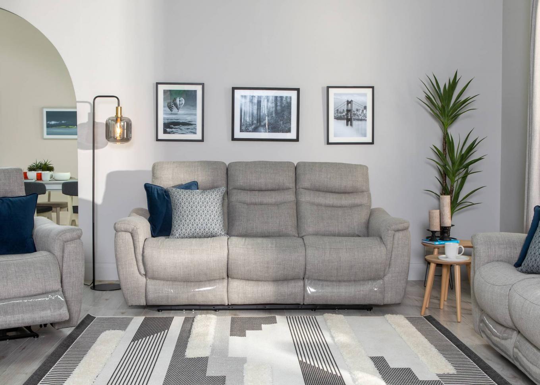Silver Flair Reclining Sofa Lookbook