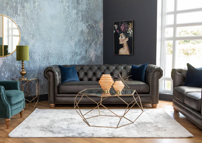 Charterhouse Sofa & Hudson Armchair Platonic Lookbook