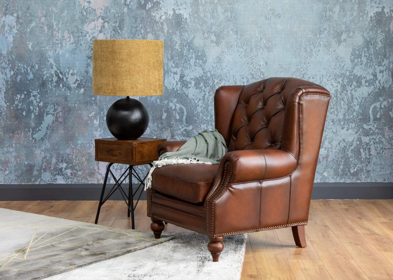 Adare Vintage Brown Chair Lookbook