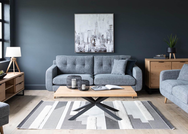 New York Grey Sofa & Arno/Livorno Lookbook