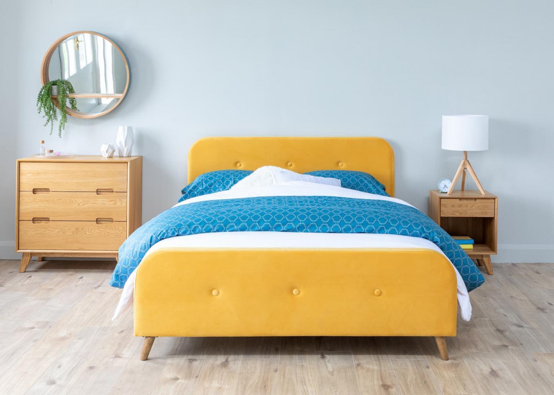 Serena Yellow 5ft Bedframe Lookbook