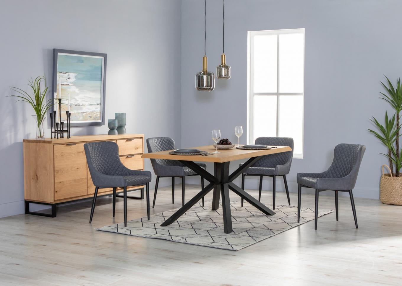 Arno Natural Oak 160cm Dining Table Lookbook