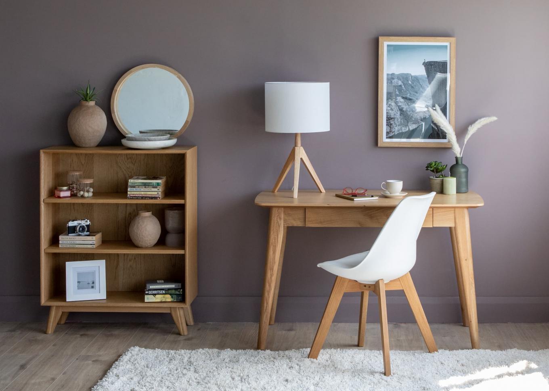 Rho Desk & Low Bookcase Lookbook