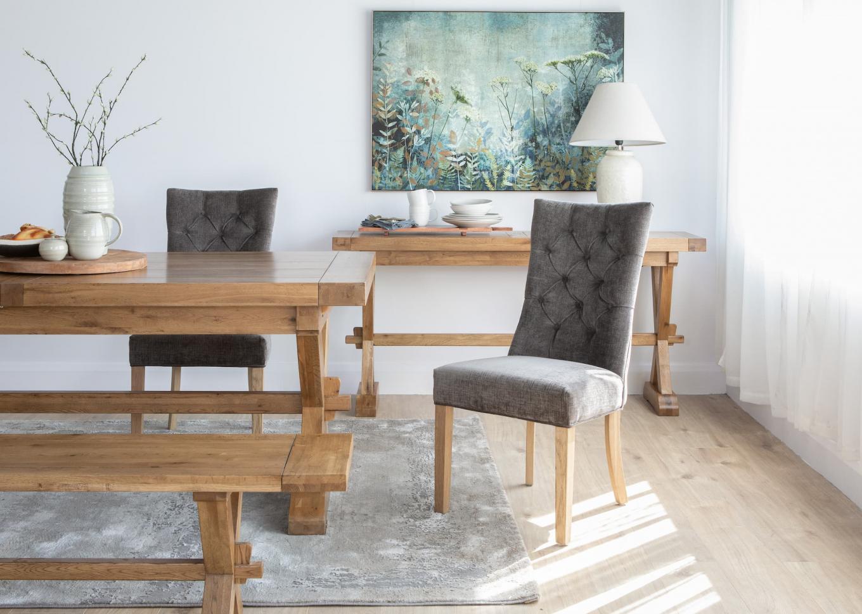 Clara Dark Grey Chair Lookbook